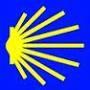 Muschel, das Logo vom Jakobsweg