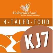 Logo des Radweges KJ7