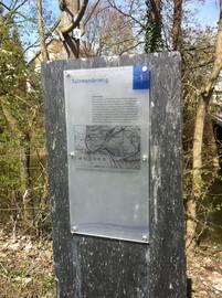 Infotafel des Salzwanderweges