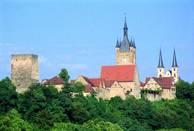 Silhouette der Altstadt von Bad Wimpfen