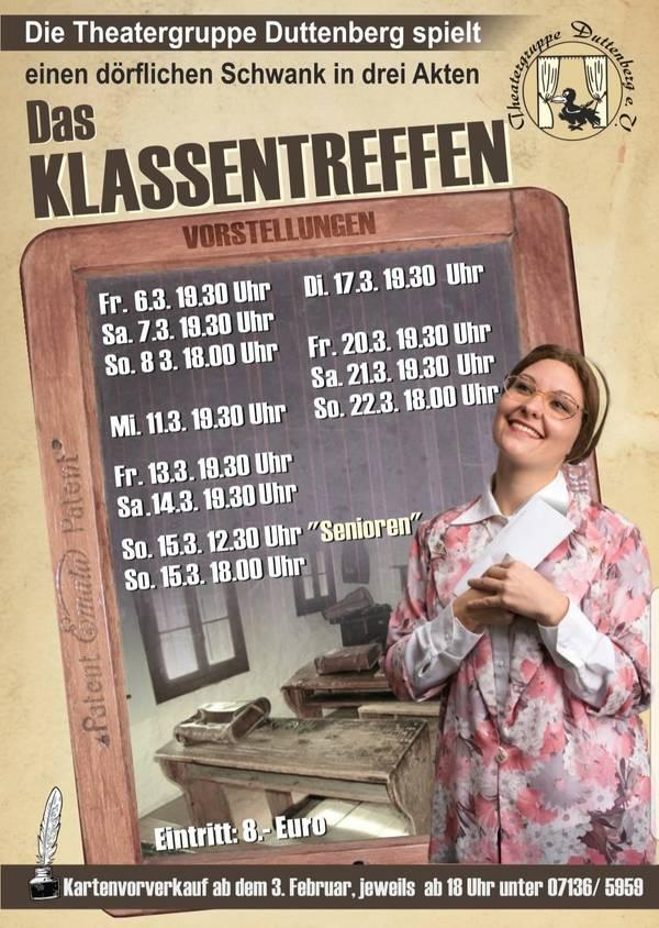 Poster für Das Klassentreffen