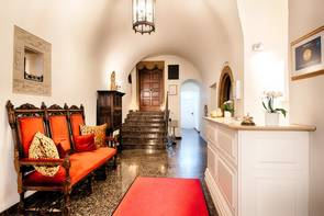 Lobby des Schloss Lehen