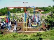Familienfreundlicher Sportplatz Spieloase in Hagenbach
