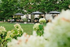 Der Garten des Schloss Lehen