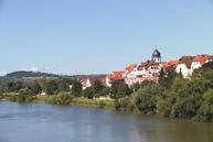 Die schöne Silhouette des Stadtteils Jagstfeld