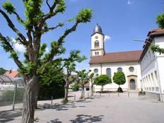 Sankt Baptist Kirche in Untergriesheim
