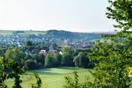 Blick auf den Stadtteil Untergriesheim