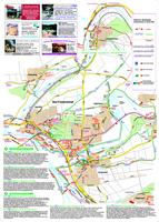 Übersichtskarte der Bad Friedrichshaller Wanderwege