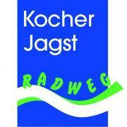 Logo vom Kocher Jagst Radweg