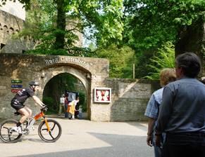 Eingangstor Burg Guttenberg