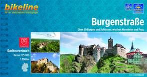 Broschüre des Burgenstrassen Radwegs