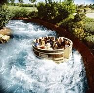 Waschzuber Rafting im Freizeitpark Tripsdrill