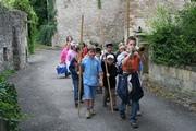 ein Gruppe verkleideter Kinder